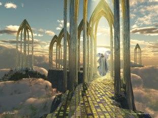 Le Paradis : Jean Messager de la Lumière Gates-of-heaven