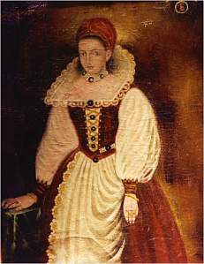 Countess Erzsebet of Bathory of Hungary